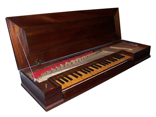 Fretted Clavichord by Walter Bishop