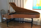 Single Manual English Harpsichord after Mahoon by Peter Redstone, side view