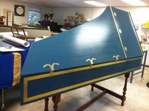 2011 Custom Flemish Double Manual harpsichord