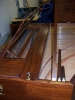 Double Manual French Harpsichord by William Dowd, interior front view