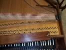 Double Manual French Harpsichord by William Dowd, wrestplank