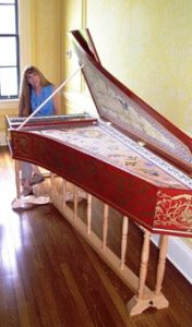 Anne Acker 2005 custom harpsichord