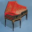 Hemsch Double Manual French Harpsichord