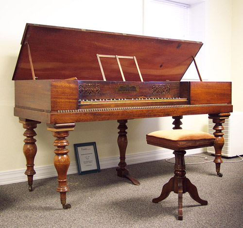 Square Fortepiano by Clementi, c. 1825