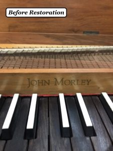 Unfretted Clavichord by John Morley, ca. 1970