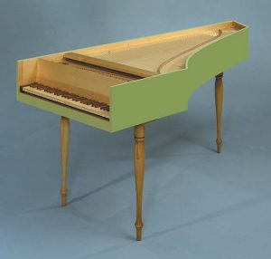French Harpsichord by AMD Logo Instruments