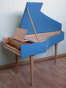 "Little Harpsichord ""Le Petit Clavecin"" by AMD Logo Instruments"