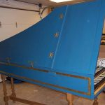 Flemish Double Manual Harpsichord by Anne Acker, 2009