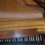 Double Manual French Harpsichord by William Dowd, 1963