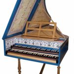 Image of Flemish Double Manual Harpsichord by Anne Acker, 2009