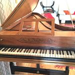 Single Manual English Harpsichord after Mahoon