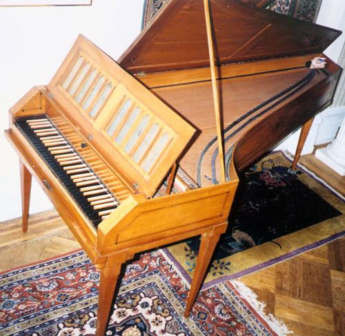 Viennese Fortepiano, attr. Hoffman, 1785