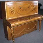 John Brinsmead Art Case Upright Piano