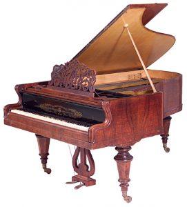 Grand Piano by Streicher, 1878