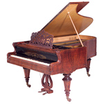 Grand Piano by Streicher, 1878 thumbnail