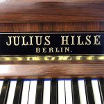 Julius Hilse Art Case Upright, 1885