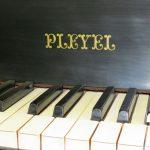 Pleyel grand, 1880