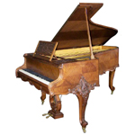 Artcase Grand Piano by Erard Paris, 1904