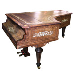 Artcase Grand Piano by Erard, c. 1884