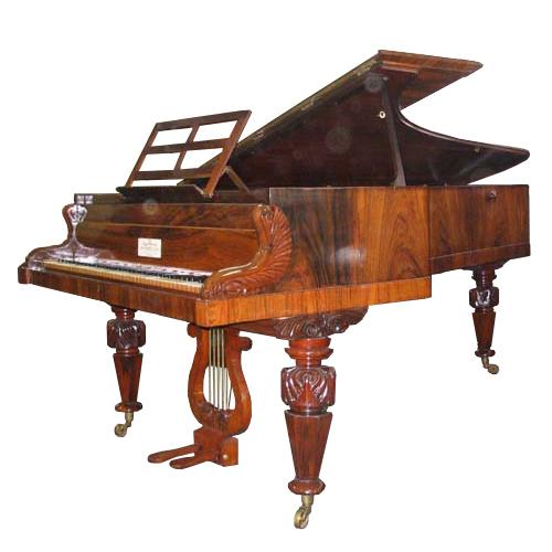 Fortepiano by Broadwood, 1849