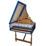 Flemish Double Manual Harpsichord