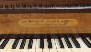 Image of English Square Piano by John Broadwood & Son, 1799