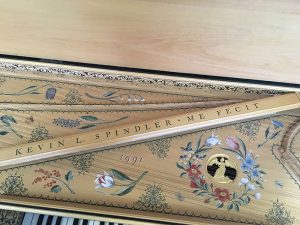 Flemish Muselaar / Virginal name on jackrail