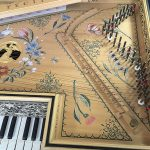 Flemish Muselaar / Virginal soundboard tuning pins