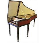 Double Manual Flemish Harpsichord by William Dowd, 1968