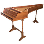 Single Manual Italian Harpsichord by D. Jacques Way and Marc Ducornet, 1991