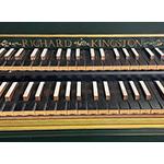 Double Manual Northern European Harpsichord, Richard Kingston 2006